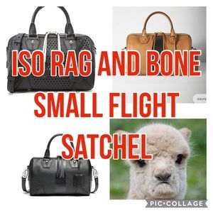 🖤IN SEARCH OF 🖤Rag And Bone Small Flight Satchel
